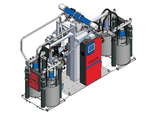 川崎E280液态硅胶送料机